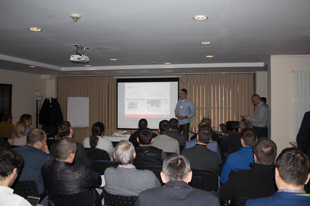 Metrici and Lantec organized Mobotix Days in Bucharest